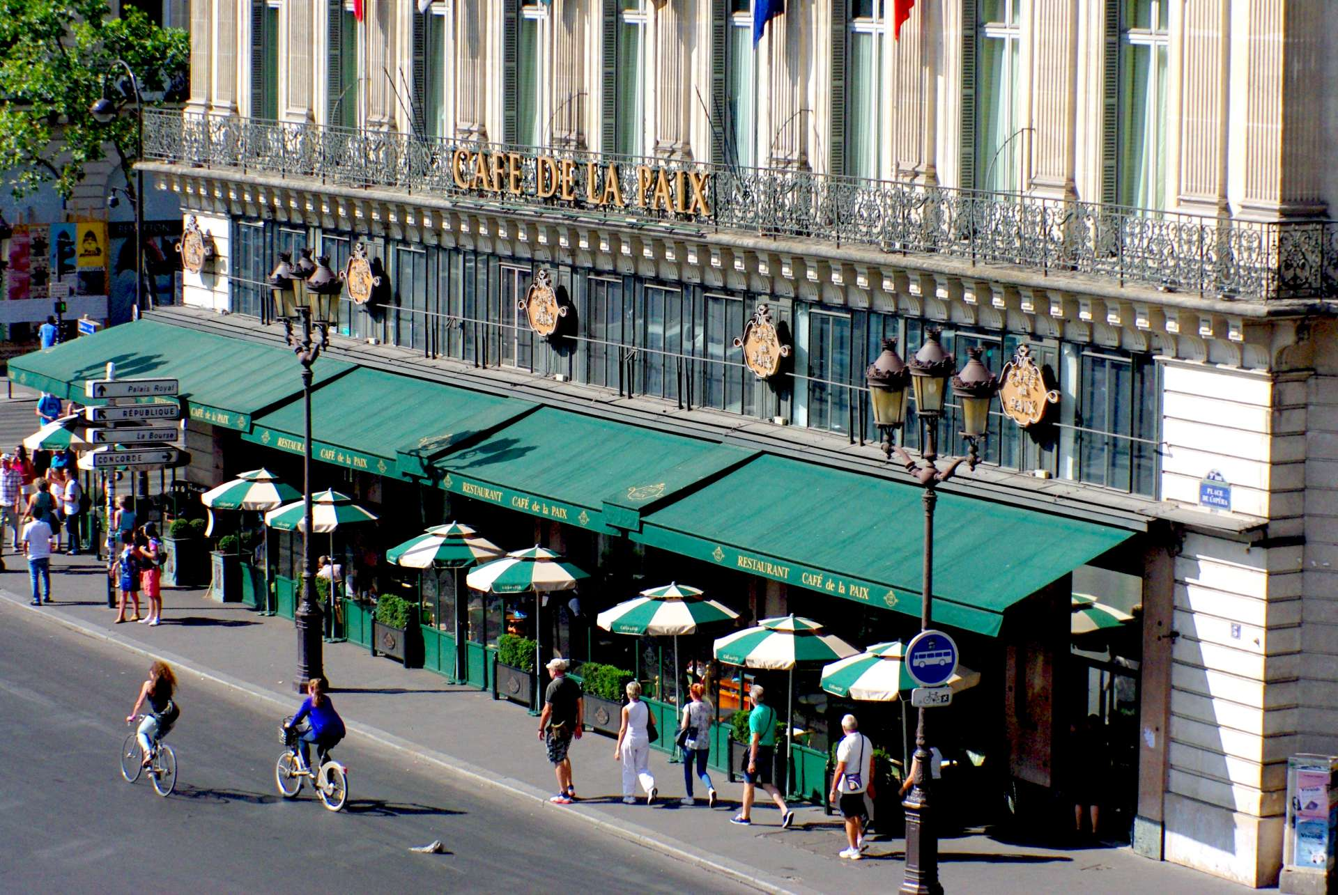 Haussmann's Paris Café de la Paix © French Moments