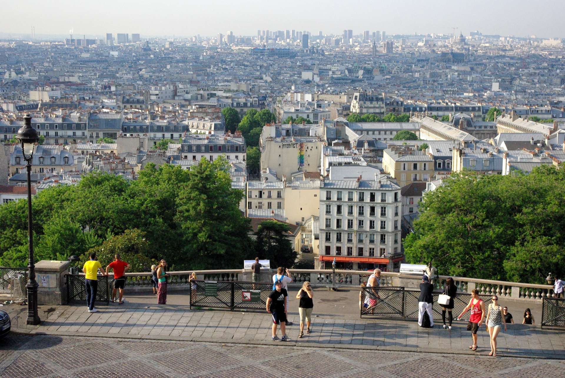 Paris viewed from Montmartre © French Moments