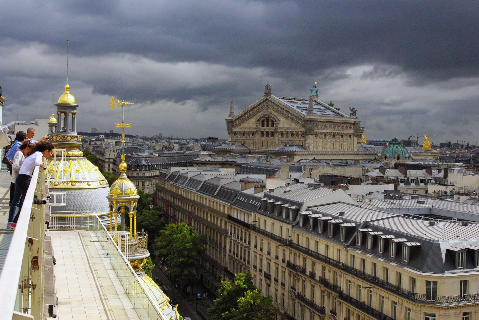 Haussmann's Paris from Galeries Lafayette © French Moments