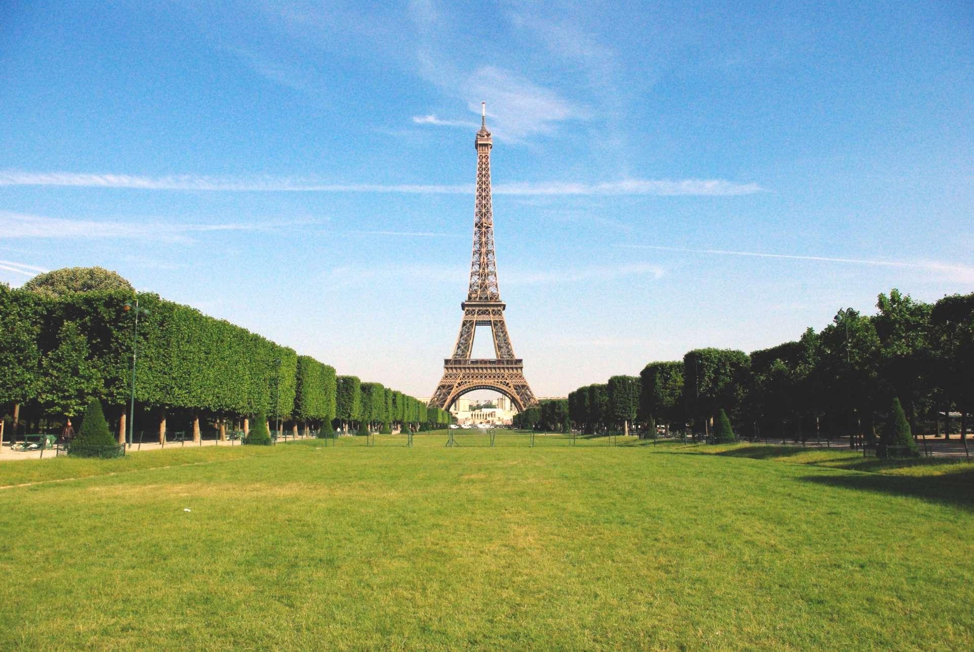 Champ de Mars and Eiffel Tower Paris © French Moments